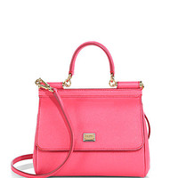 Mini Dauphine-Leather Miss Sicily Satchel