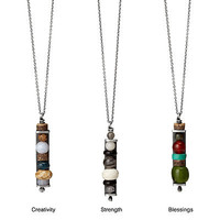 INSPIRATIONAL TOTEM NECKLACE | stone beads, personalized necklace | UncommonGoods