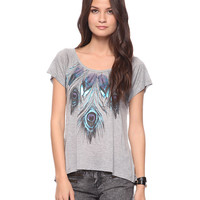 Peacock Feather Top | FOREVER21 - 2000035680