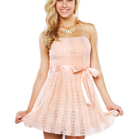 Papaya Clothing Online :: LACY BOW FLARE DRESS