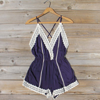 Whiskey & Rye Romper in Navy