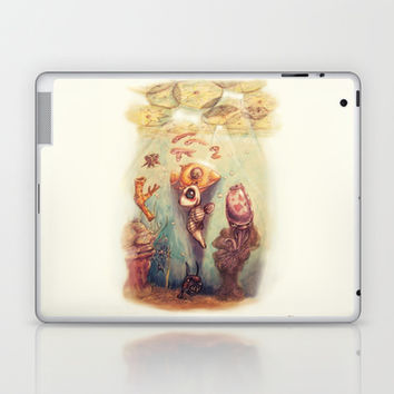 Below the Surface Laptop & iPad Skin by Ben Geiger