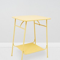 Factory Side Table in Yellow - Urban Outfitters