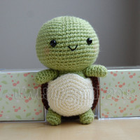 Turtle Gurumi Crochet Pattern by LuvlyGurumi on Etsy