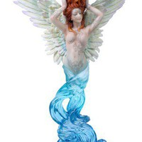 Unique Home Decor | Tattooed Angel Candle Holder