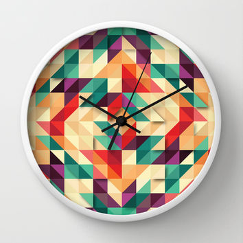 Infiltrate I Wall Clock by Limmyth