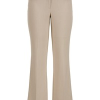 smart khaki bootcut trouser pants