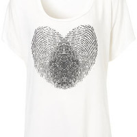 Heart Tee by Project Social T - Jersey Tops  - Clothing  - Topshop