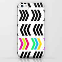 Rainbow Pop Zig Zag iPhone & iPod Case by Lisa Argyropoulos | Society6