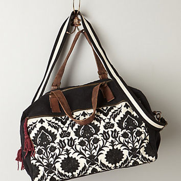 Reina Embroidered Overnighter