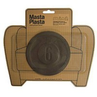 MastaPlasta - Leather Repair Plasta 5-inch diameter Large Racing Design BROWN