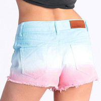 Coast to Coast Dip Dye Cutoffs - &amp;#36;46.00 : ThreadSence.com, Your Spot For Indie Clothing  Indie Urban Culture