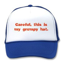 Grumpy Trucker Hats from Zazzle.com