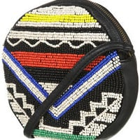 Beaded Cross Body Bag