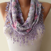 Lilac Scarf by SwedishShop