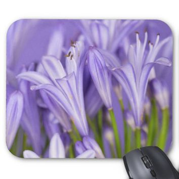 Beautiful Purple Agapanthus Mousepad