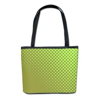 Green Polka Dots Bucket Bag> Green Polka Dots> artyart
