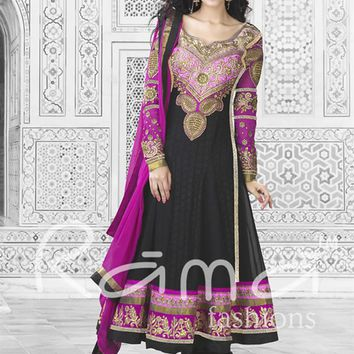Embroidered Designer Long Anarkali Salwar Kameez