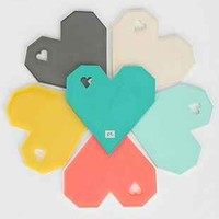 Origami Heart Coaster Set - Urban Outfitters