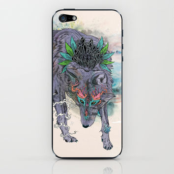 Journeying Spirit iPhone & iPod Skin by Mat Miller