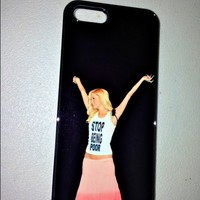 SWEET LORD O'MIGHTY! STOP BEING POOR BLACK IPHONE CASE
