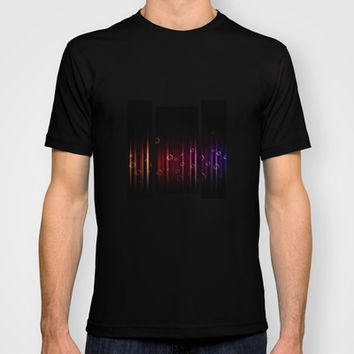 Bubbles and colors T-shirt by VanessaGF | Society6