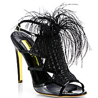 Rupert Sanderson - Wilson Feather Sandals - Saks Fifth Avenue Mobile