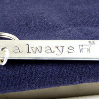 Always - Harry Potter - Deer - Aluminum Key Chain