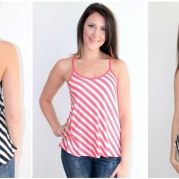 Perfect Striped Tank!