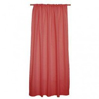 "Sleeping Partners Tadpoles Classic 84"" Red Solid Color Curtain Panels - dpnlsd019 - Window Treatment - Decor"