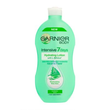 Garnier Intensive 7 Days Hydrating Lotion with Moisturising Aloe Vera - Normal Skin 400ml