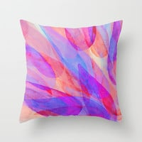 Apparition Throw Pillow by Jacqueline Maldonado