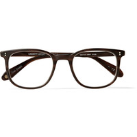 Garrett Leight California Optical - Bentley D-Frame Matte-Acetate Glasses | MR PORTER
