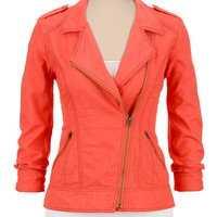 Aurora lightweight asymmetrical zip jacket