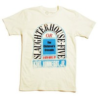 Slaughterhouse-Five book cover t-shirt