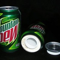 Mountain Dew Soda Can Diversion Safe Stash NEW!