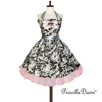 Custom in Your Size Diva Swing Cupcake Dress by priscilladawn