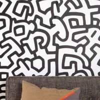 Keith Haring Pattern Wall Decal