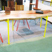 From the Source Uses Reclaimed Indonesian Wood to Create Chic Rustic Furniture From the Source table ? Inhabitat - Green Design Will Save the World