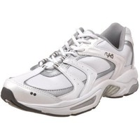 Ryka Women`s Endure XT 2,White/Chrome Silver/Metallic Steel Grey,8 M US