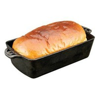 Amazon.com: Sante Cabin Kitchen Cast Iron Bread Pan: Kitchen & Dining