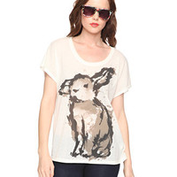 Paint Splatter Rabbit Top - New Arrivals - 2081257675 - Forever21