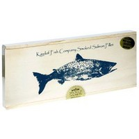 Kasilof Fish Company Alder-Smoked Sockeye Salmon, 16-Ounce Fillet in Gift Box