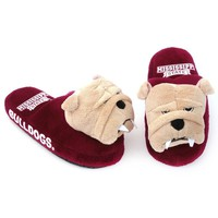 Mississippi State Bulldogs Mascot Slippers - Youth