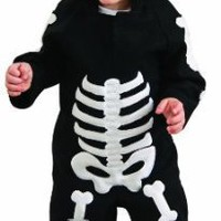 Rubie's Costume Co Unisex-Child Baby Skeleton Romper Costume