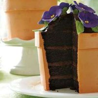 Delectable Green Thumb Desserts - The Blooming Flower Pot Cake Sprouts With Sweetness (GALLERY)