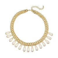 Apt. 9 Gold Tone Simulated Pearl Multistrand Necklace