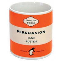 Jane Austen Persuasion Penguin Mug