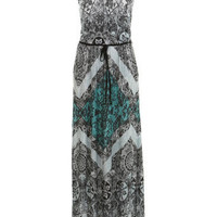 Lace Print Strappy Maxi Dress - Midi & Maxi Dresses - Dress Shop - Miss Selfridge