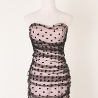 Polka Dots Tulle Dress - sale - Retro, Indie and Unique Fashion